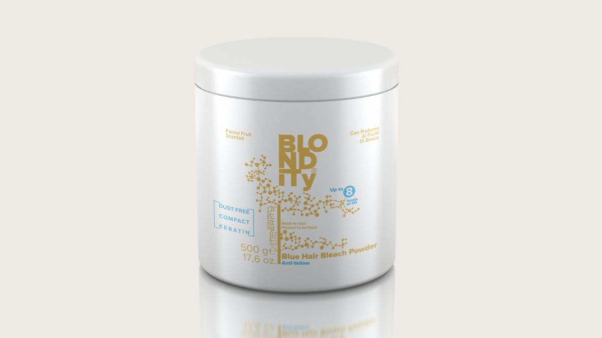 Blondity Blue Hair Bleach Powder Keratin 500g