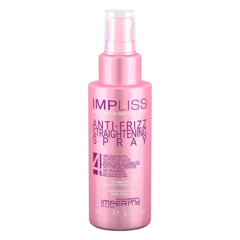 Impliss Anti-Frizz Straightening Spray 100ml