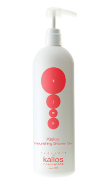 KALLOS NOURISHING SHOWER GEL 1000ml
