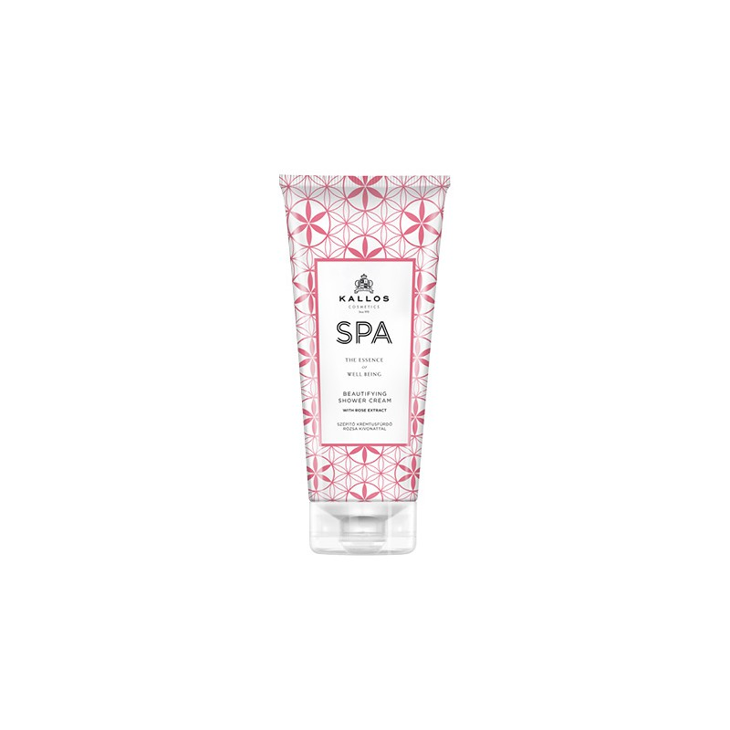 Kallos SPA Beautifying Shower cream with rose extract 200ml
